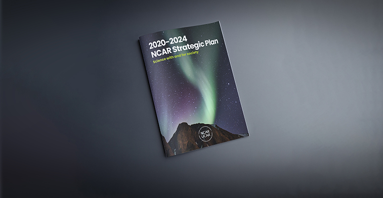 Cover of NCAR Strategic Plan 202-2024