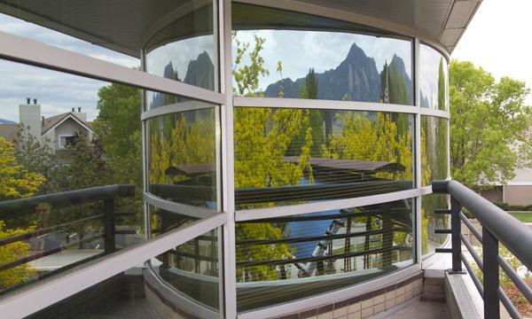 Windows on UCAR's Center Green 1 Building