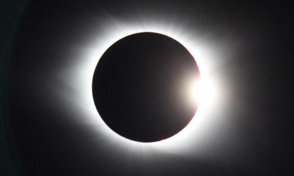 Image of the 2017 solar eclipse