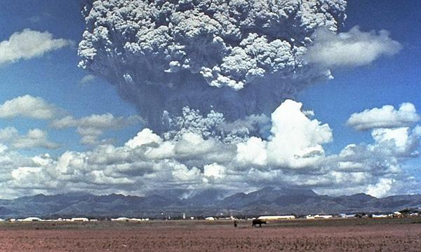 The eruption of Mount Pinatubo