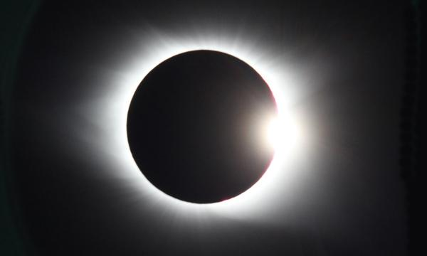 An image of the 2016 solar eclipse