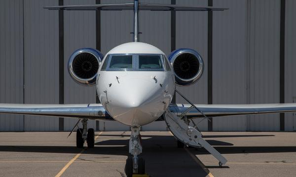 A Gulfstream V (GV) business jet that has been highly modified for research has unique capabilities that set it apart from other research aircraft. It can reach 51,000 feet (15,500 meters), enabling scientists to collect data at the tops of storms and the lower edge of the stratosphere. With a range of about 7,000 miles (11,265 kilometers), it can track atmospheric particles across the oceans or reach the South Pole from bases in South America or New Zealand.